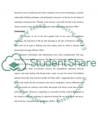 the marketing communications (or promotional) mix Essay example