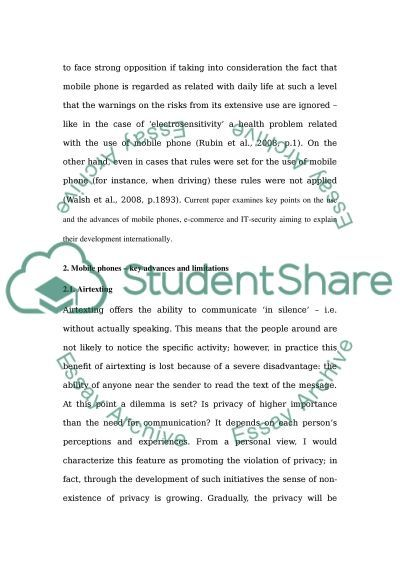 E-Commerce and IT Security essay example