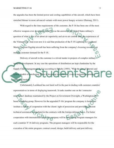 Marketing Manager Research Paper example