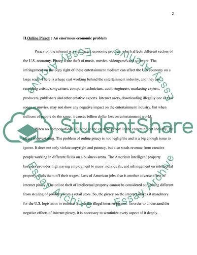 Essay examplar