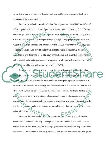 Psychology insight paper