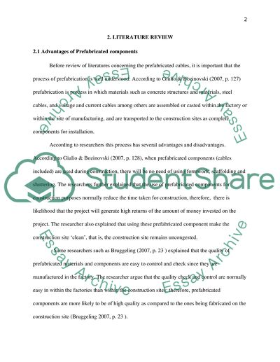 Project Form II: Report on Literature Survey