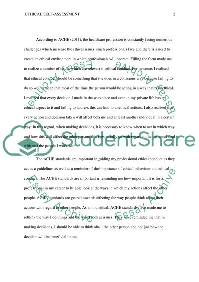 Paragraph/essay-style format