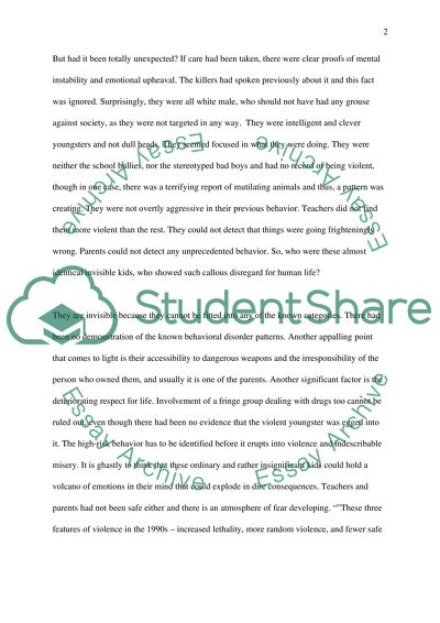 Relationship Among Students With Emotional Or Behavior Disorder And  Relationship Among Students With Emotional Or Behavior Disorder And School  Violence Essay On English Language also Can Someone Do My Assignment  Proposal Essay Topic