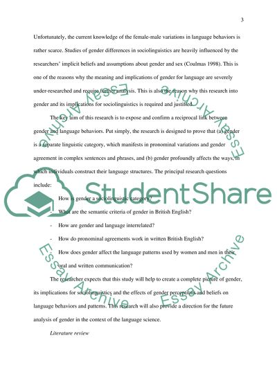 Thesis statement for social problem