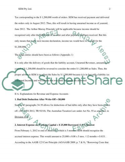 SE Machinery Pty Ltd (SEM) essay example