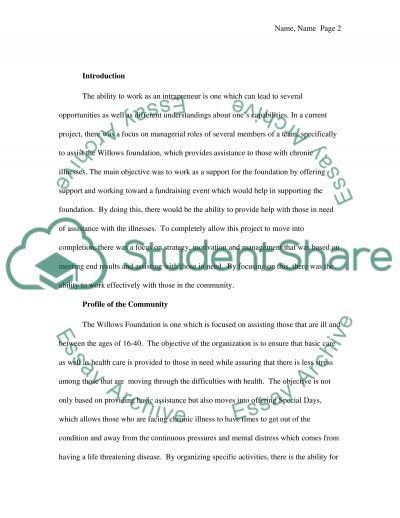 Intrapreneurship essay example