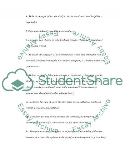 Aussie Slang essay example
