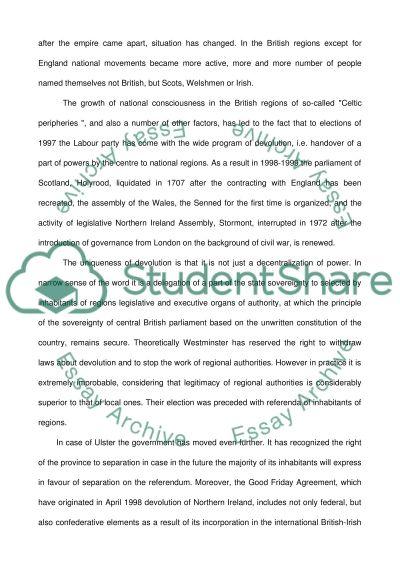 British Public essay example