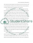 Lack of Communication in Relationship  Essay example