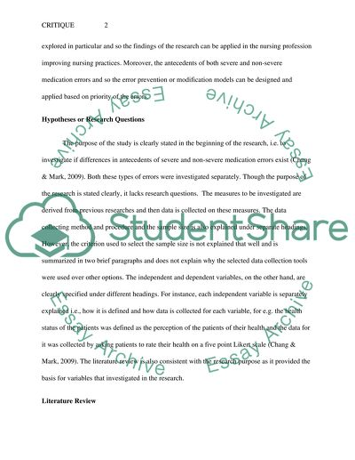 example of qualitative research paper in nursing