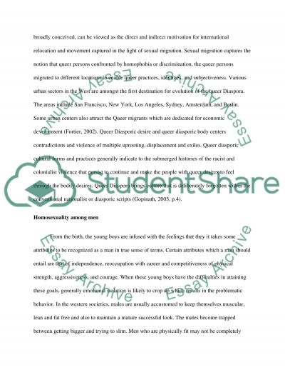 Gender and Sexual Studies Essay example
