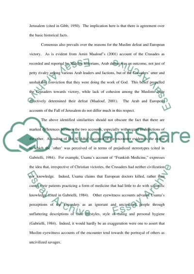 History of the Middle East, 6001453 essay example