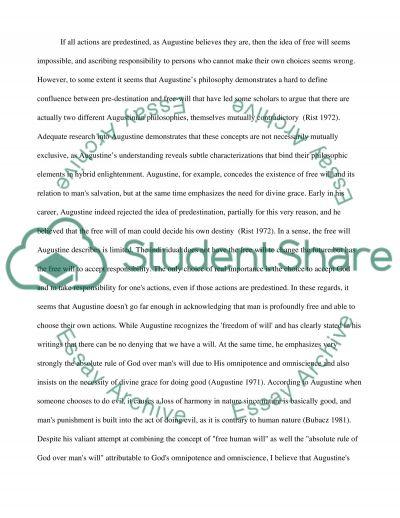 Audustines Confessions essay example