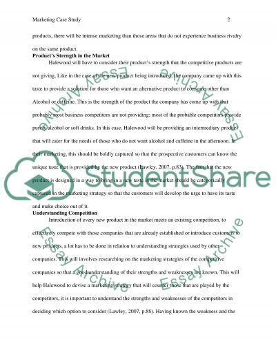 Halewood essay example