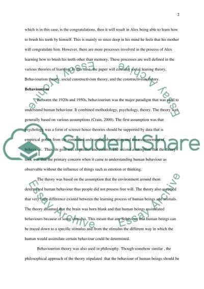 TMA 01 (essay) Option 1 essay example
