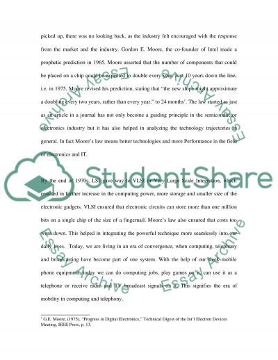 LSI Technologies Essay example