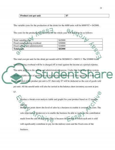 Essay on introduction finance and accounting Essay example