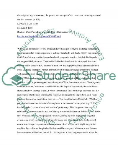 English to Japanese Translation essay example