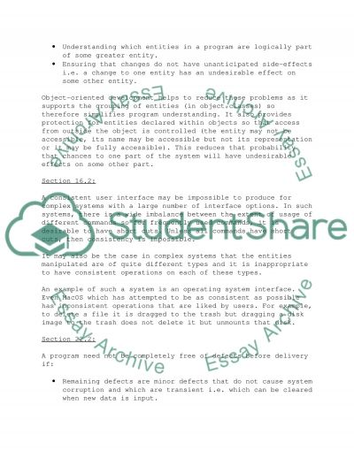 Software Engineering - 56D essay example