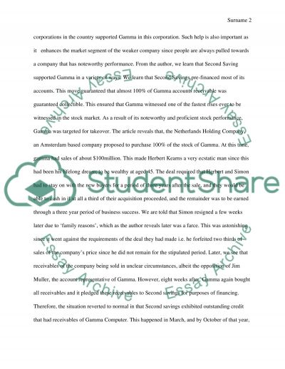 Fraud Essay example