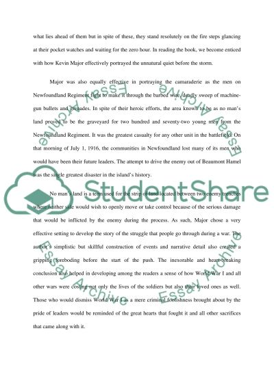 Assianment essay example
