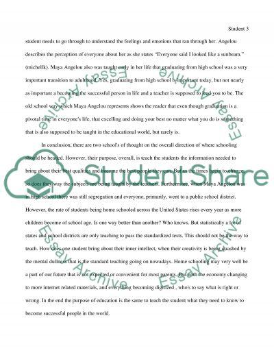 purpose for education essays