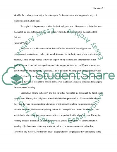 Challange of Moral Education essay example