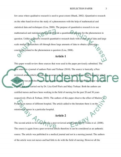 Rules of writing a research paper essay example