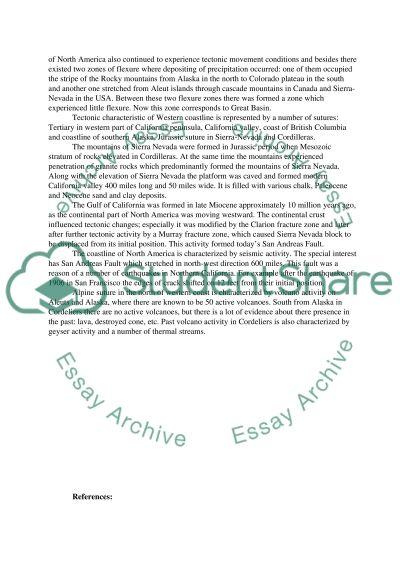 Environmental Geology essay example