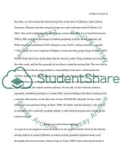 Visions of Success of Minority Nursing Students essay example