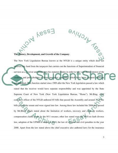 SWOT Analysis - NYLB essay example