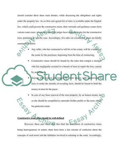 Foundation Property Writing Task
