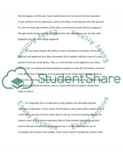 Educational Practice essay example