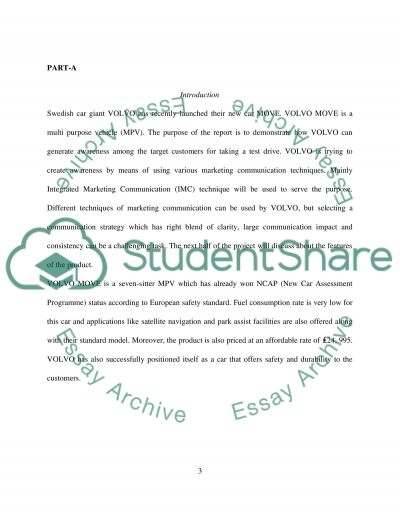 Context Analysis and IMC Recommendation essay example