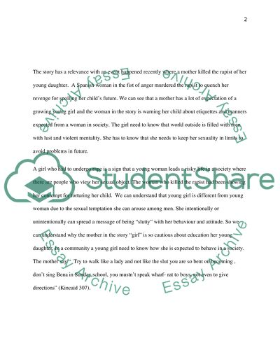 Essay about connecting an article and a story