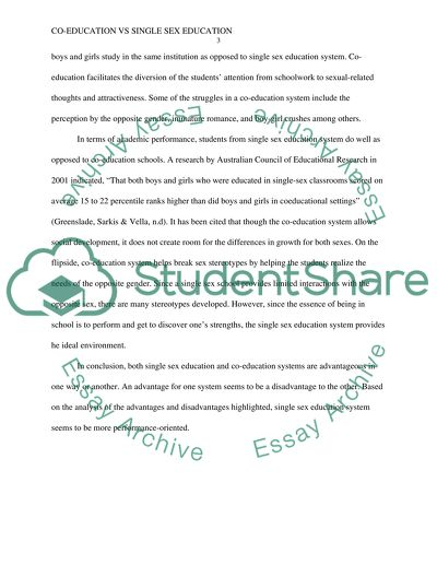 First Day Of High School Essay The Advantage And Disadvantage Of Coeducation And Single Sex Education Definition Essay Paper also In An Essay What Is A Thesis Statement The Advantage And Disadvantage Of Coeducation And Single Sex Essay Samples Of Persuasive Essays For High School Students