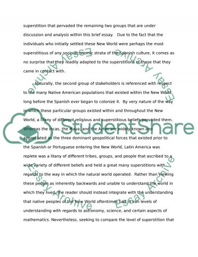colonial latin america essay example topics and well written text