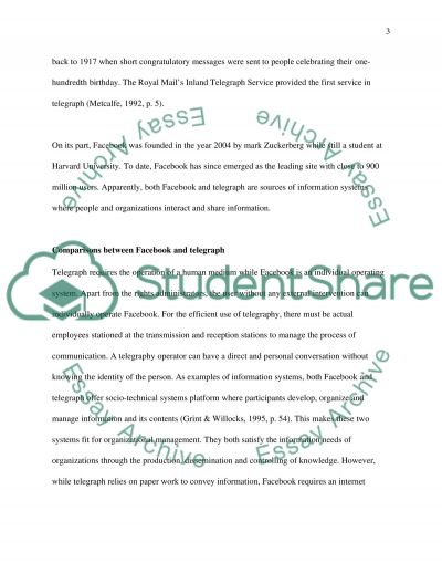 Information management essay example