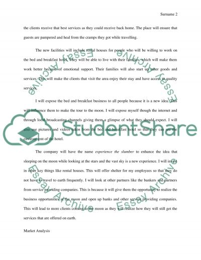 Marketing in Outer Space essay example
