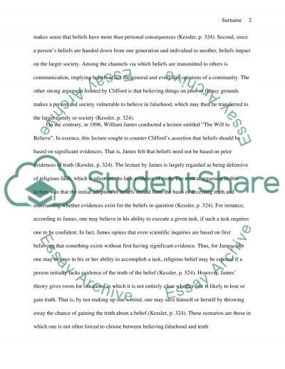 Philosphy 103 essay example