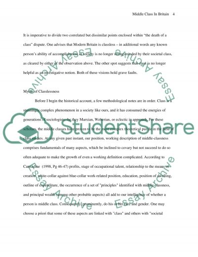 Modern Classroom Paragraph ~ Middle class essay example topics and well written