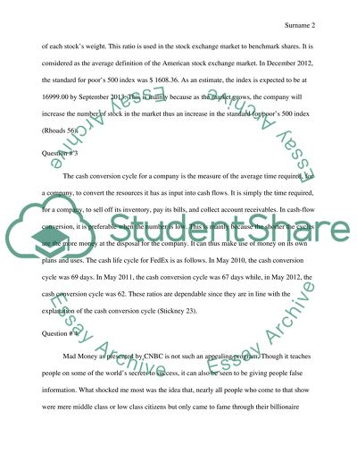 Essay Of Newspaper  Essay On My Mother In English also Thesis Of An Essay Financial Management Answers On Questions Essay Examples Thesis Statements Essays
