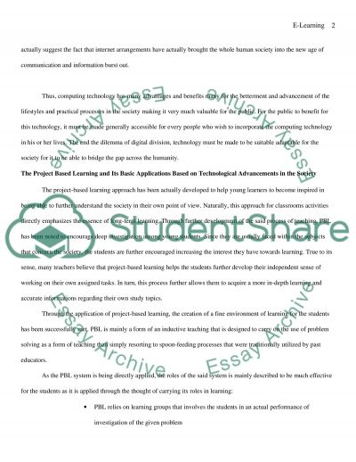 Distance Learning Systems essay example