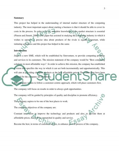 Start a SME use SWOT and Pestle to analysis how it will benifit Simventure essay example