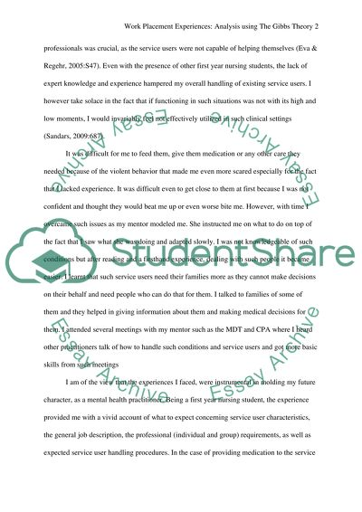 Narrative Essay Sample Papers Reflective Account Of Two Placement Experiences Sample Business Essay also Science And Technology Essays Reflective Account Of Two Placement Experiences Essay Personal Essay Examples High School
