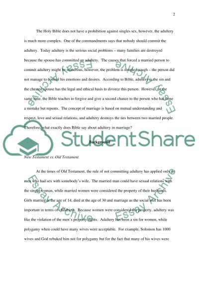 Marriage Bachelor Essay essay example