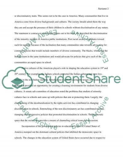 Decultralization and Education essay example