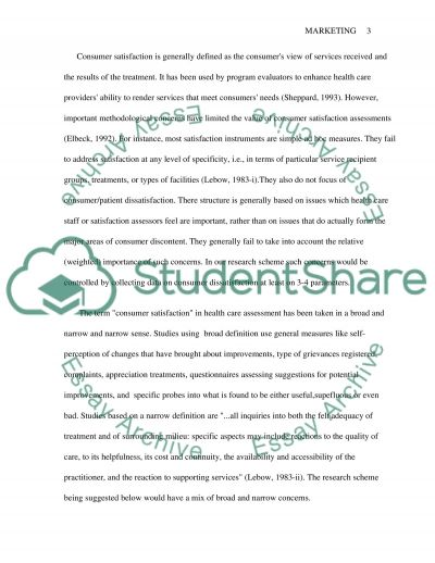 Marketing research proposal essay example