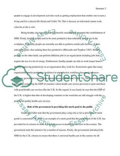 Merit pay thesis statement